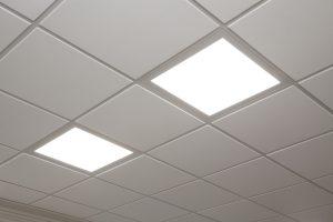 Led panel belysning